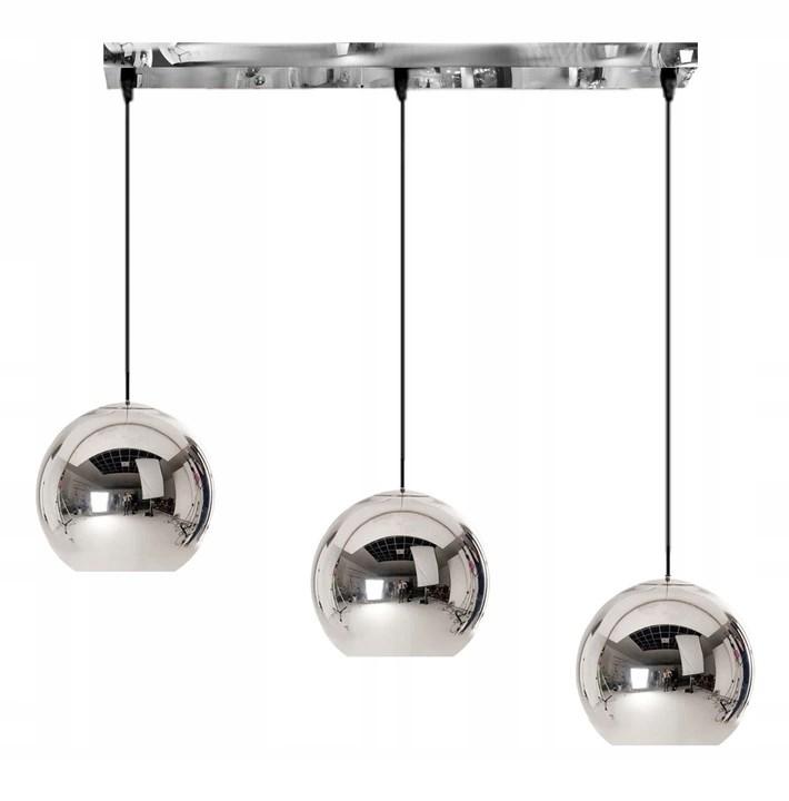 lampy szklane sufitowe w zestawie