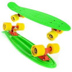 Deskorolka Fishboard Flexifit F4 GREEN