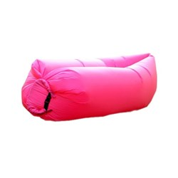Dmuchana sofa LAZY BED Pink