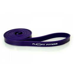 GUMA TAŚMA POWER BAND VIOLET FITNESS 8-12 kg