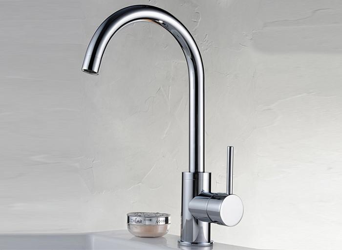 Robinet mitigeur talisa de cuisine design haute qualite - Monter un robinet de cuisine ...